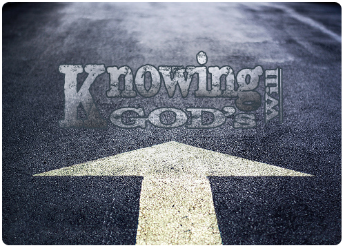 Knowing the Will Of God copy